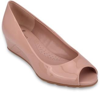 Bandolino Clesa Peep Toe Wedge Heel