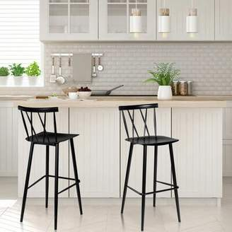 Astonishing Oak Bar Stools Shopstyle Creativecarmelina Interior Chair Design Creativecarmelinacom