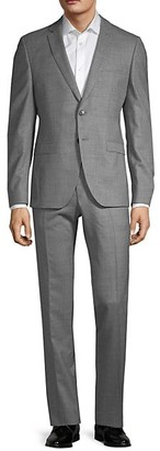 HUGO BOSS Extra Slim-Fit Marzotto Wool Suit