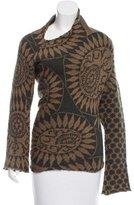 Dries Van Noten Intarsia Wool Sweater