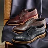 Charles Tyrwhitt Brown Tavistock wingtip brogue shoes