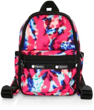 Le Sport Sac x Baron Von Fancy Mini Tie-Dye Backpack