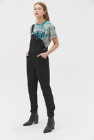 Weworewhat WeWoreWhat Basic Crystal Denim Overall