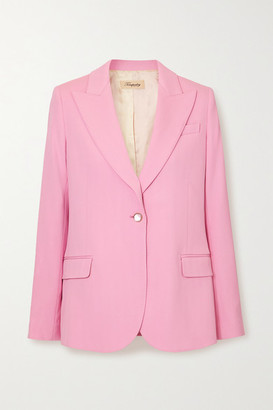 Temperley London Marlene Wool Blazer - Pink