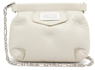 Maison Margiela Glam Slam Mini Quilted-leather Cross-body Bag - Beige
