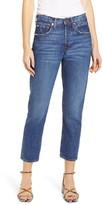 Edwin Hana Nonstretch High Waist Crop Jeans