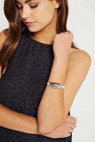 BCBGeneration How Mod Cuff Bracelet - Silver