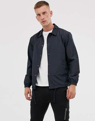 French Connection lightweight coach jacket-Navy