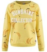 Scotch R'Belle Yellow Banana Print Sweatshirt