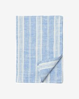 Toast Double Striped Linen Tea Towel