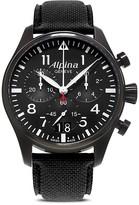 Alpina Startimer Pilot Quartz Chronograph Watch, 44mm
