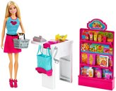 Barbie Malibu Ave Grocery Store with Doll Playset