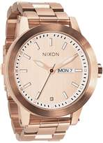 Nixon Men's Quartz Stainless Steel and Casual Watch, Color:Rose Gold-Toned (Model: A263-897)