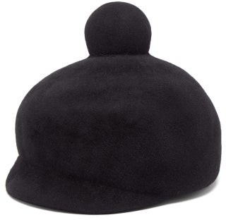 Lola Hats Toy Soldier Felt Hat - Womens - Black