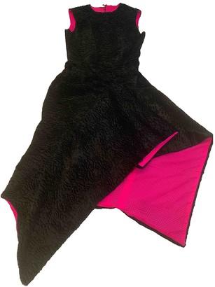 Jerome Dreyfuss Black Wool Dresses
