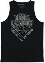 Metal Mulisha Men's Cam Graphic-Print Cotton Tank