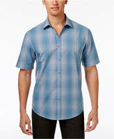 Alfani Men's Variant Grid-Pattern Shirt, Created for Macy's