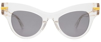 Bottega Veneta Bv1004s Crystal Sunglasses