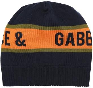 Dolce & Gabbana Kids Wool beanie
