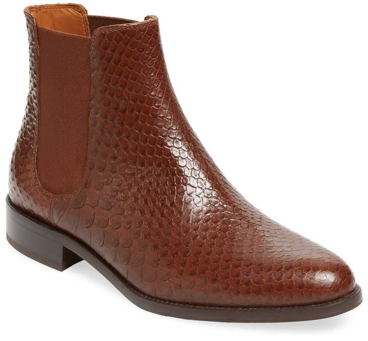 Aquatalia Women's Yulia Printed Leather Chelsea Boot