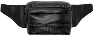 DSQUARED2 Black Padded Mountain Ski Bum Bag