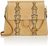 Chloé Women's Faye Medium Shoulder Bag-YELLOW