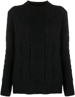 Laneus Cable-Knit Jumper