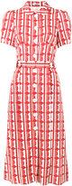 Miu Miu circle print dress