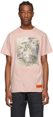 Heron Preston Pink Heron T-Shirt