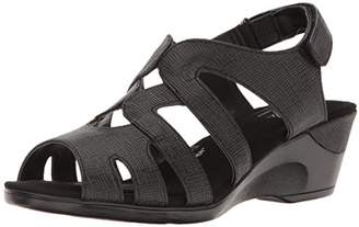 SoftStyle Soft Style by Hush Puppies Women's Patsie Wedge Sandal