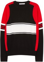 Givenchy Colour-block Fine-knit Wool Jumper