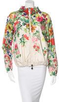Moncler Floral Print Windbreaker Jacket