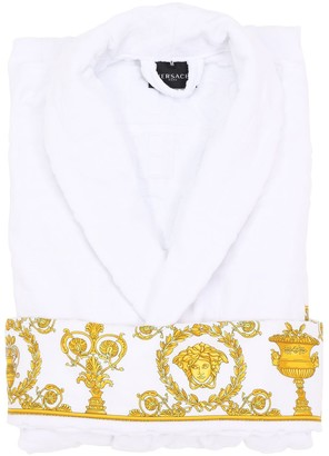 Versace Barocco & Robe Cotton Bathrobe