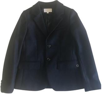 Gucci Blue Wool Jackets & Coats