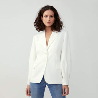 Fame & Partners Tapered Sleeve Blazer