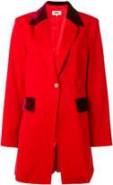 MM6 MAISON MARGIELA velvet details blazer