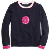 Brooks Brothers Merino Wool Intarsia Sweater