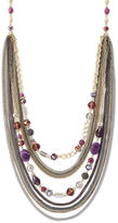 The Limited Multistrand Beaded Necklace