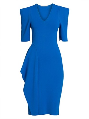 Stella McCartney Draped Sheath Dress