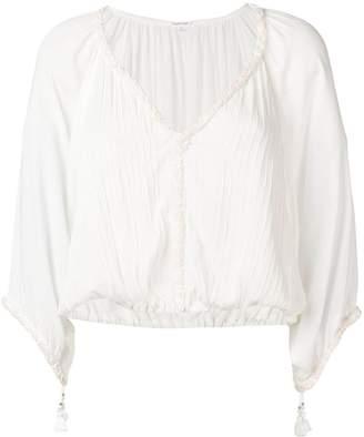 Poupette St Barth ribbed blouse