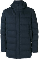 Herno padded jacket - men - Feather Down/Polyamide/Polyester/Wool - 50