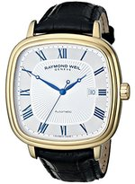 Raymond Weil Men's 2867-PC-00659 Maestro Analog Display Swiss Automatic Black Watch