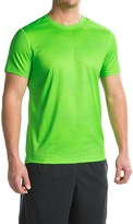 Hind Printed Mesh Shirt - Short Sleeve (For Men)