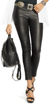 Polo Ralph Lauren Cropped Skinny Leather Pant