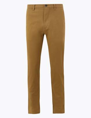 Toms M&S CollectionMarks and Spencer Slim Fit Chinos with Stretch