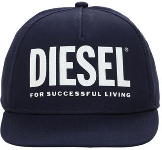 Diesel Cotton Gabardine Baseball Hat