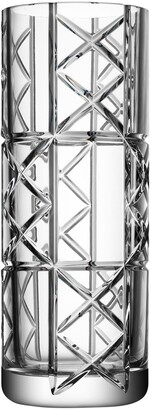 Orrefors Explicit Checks Lead Crystal Vase