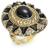 House Of Harlow Starburst and Pave Cocktail Ring