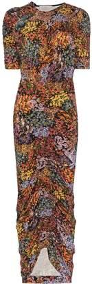 Preen by Thornton Bregazzi Alice floral ruched maxi dress