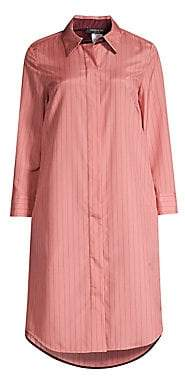 Lafayette 148 New York Women's Peggy Stripe Shirt Dress